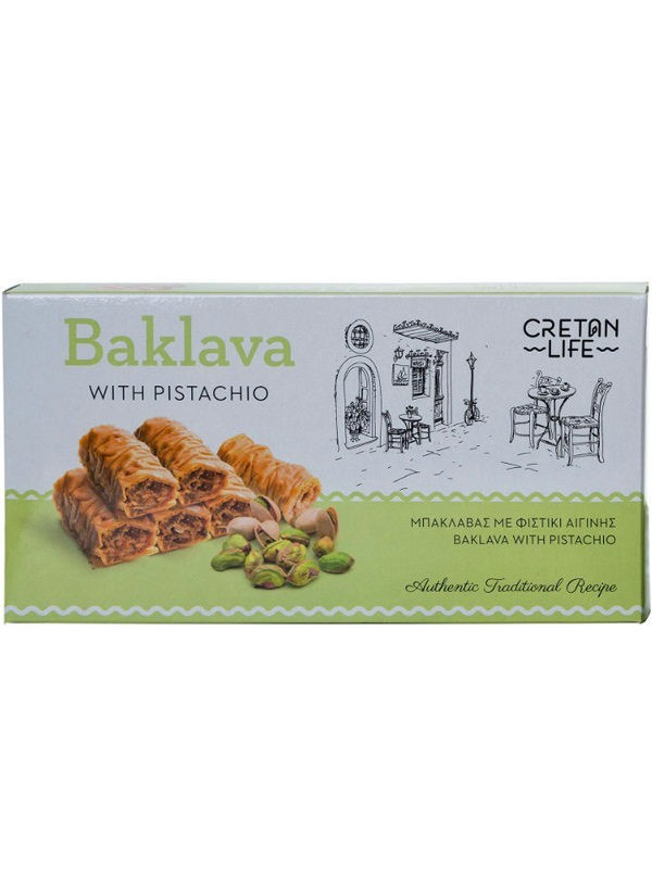 Baklava with Walnuts & Pistachios